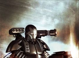 IRON MAN: DIRECTOR OF S.H.I.E.L.D. cover by Adi Granov