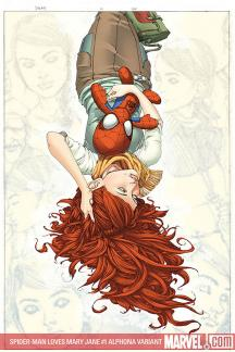 Spider-Man Loves Mary Jane (2008) #1 (ALPHONA VARIANT (1 FOR 10))