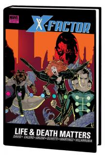 X-Factor: Life and Death Matters Premiere (Hardcover)