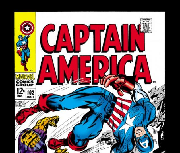 CAPTAIN AMERICA #102 COVER