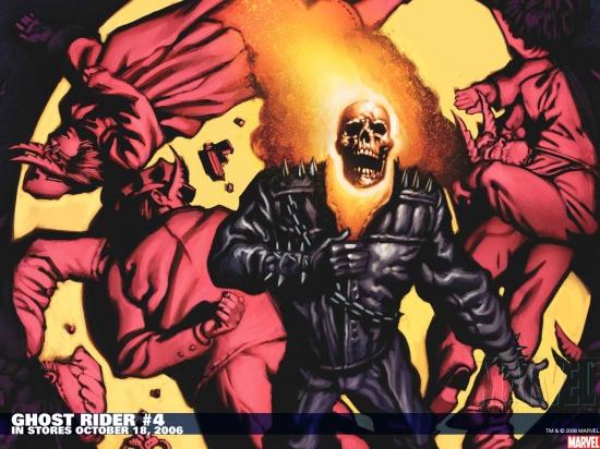 Ghost Rider (1973) #4 Wallpaper