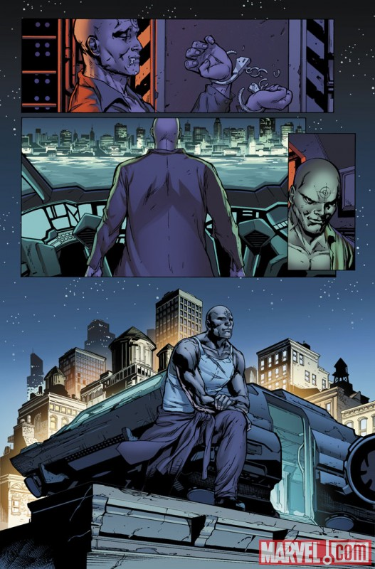 SHADOWLAND #1 preview art by Billy Tan 2