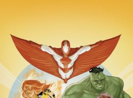 I AM AN AVENGER #3 cover by Phil Noto