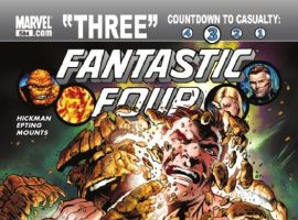 FANTASTIC FOUR #584 cover by Alan Davis