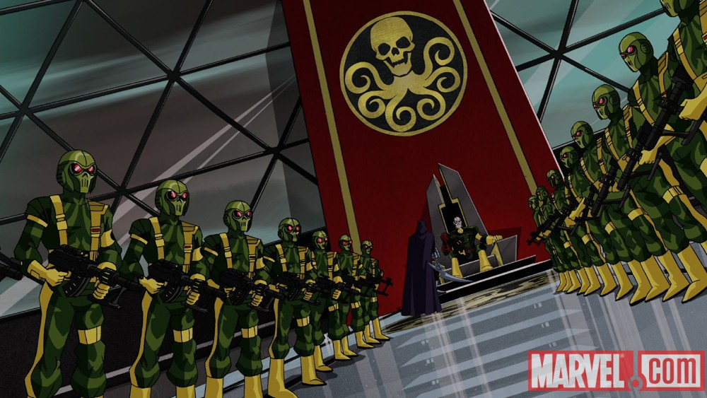 HYDRA from The Avengers: Earth's Mightiest Heroes!