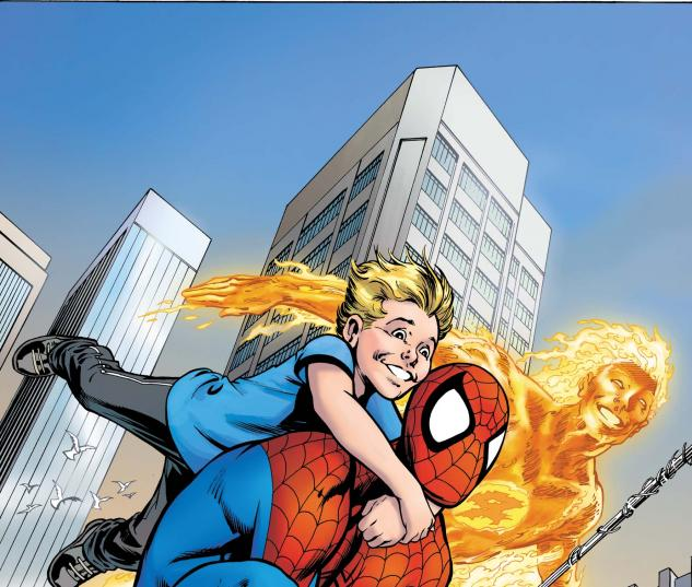 Fantastic Four: The Last Stand #1 cover
