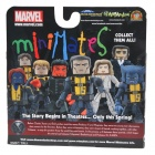 X-Men: First Class Minimates - film version figures from Diamond Select Toys