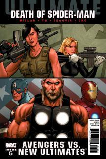 Ultimate Comics Avengers Vs New Ultimates (2010) #5 (CHO VARIANT)
