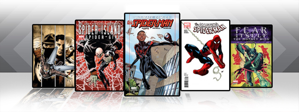 Marvel iPad/iPod App: Latest Titles 9/15/11