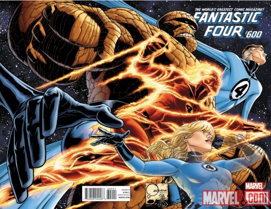 Fantastic Four #600 Cover Art by Joe Quesada
