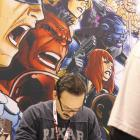 Signing table at Wondercon 2012