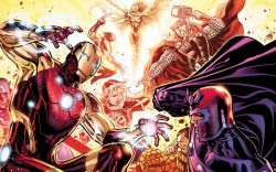 Five Biggest Marvel Super Hero Brawls