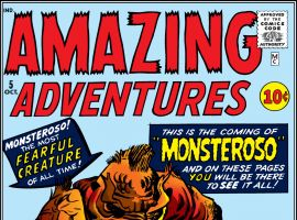 Amazing Adventures (1961) #5 Cover