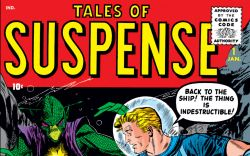 Tales of Suspense (1959) #1 Cover