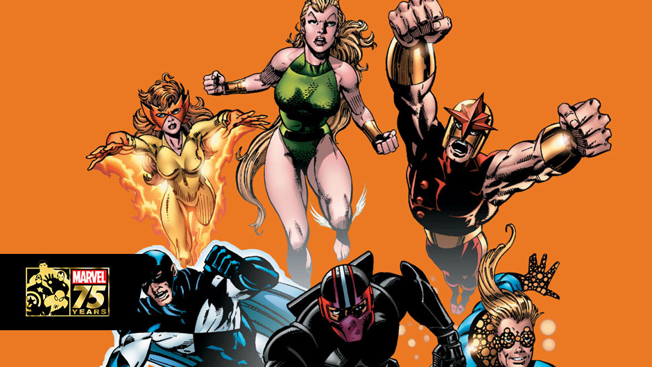 Marvel 75: New Warriors, Heroes for the 90's