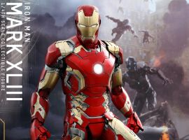 Marvel's Avengers: Age of Ultron 1/4th scale Mark XLIII Collectible Figure from Hot Toys