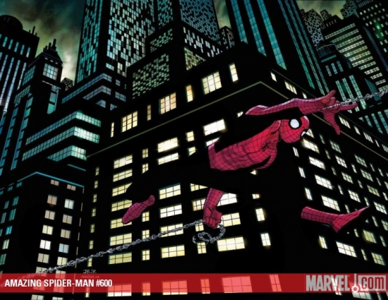 AMAZING SPIDER-MAN #600