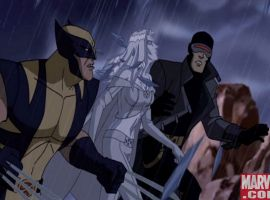 Wolverine, Emma, and Cyclops