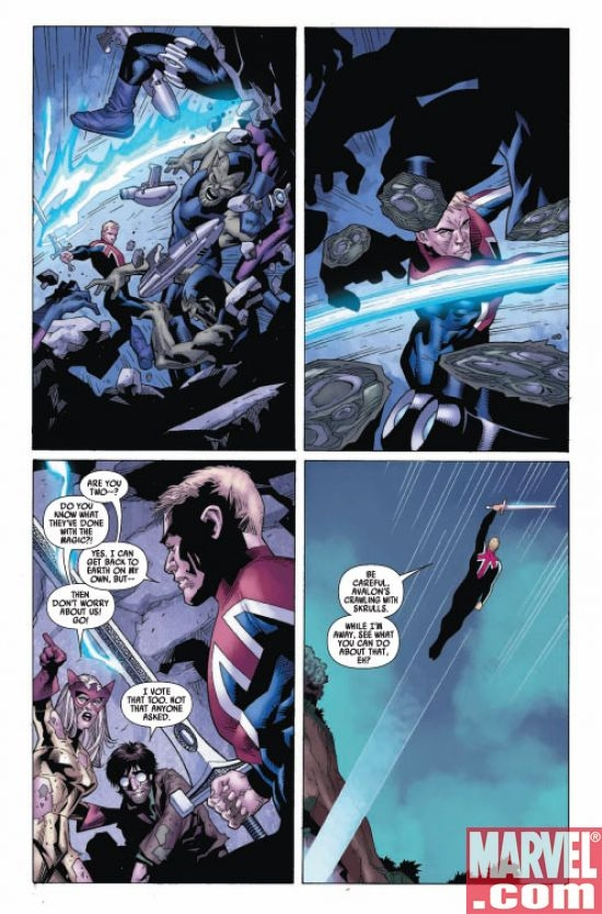 CAPTAIN BRITAIN AND MI:13 #4, page 5