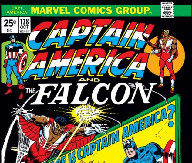 CAPTAIN AMERICA #178 COVER