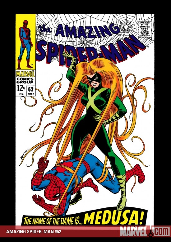 AMAZING SPIDER-MAN #62 COVER
