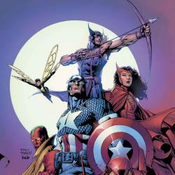 AVENGERS VOL. 4: LIONHEART OF AVALON TPB COVER