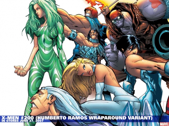 X-Men#200 variant cover by Humberto Ramos