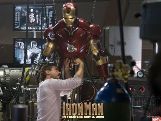 Iron Man Movie: Tony Stark #8