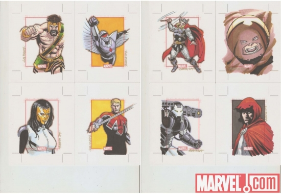 Marvel 70th Anniversary sketch card by Ryan Orosco