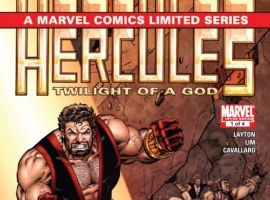 HERCULES: TWILIGHT OF A GOD #1 cover by Ron Lim