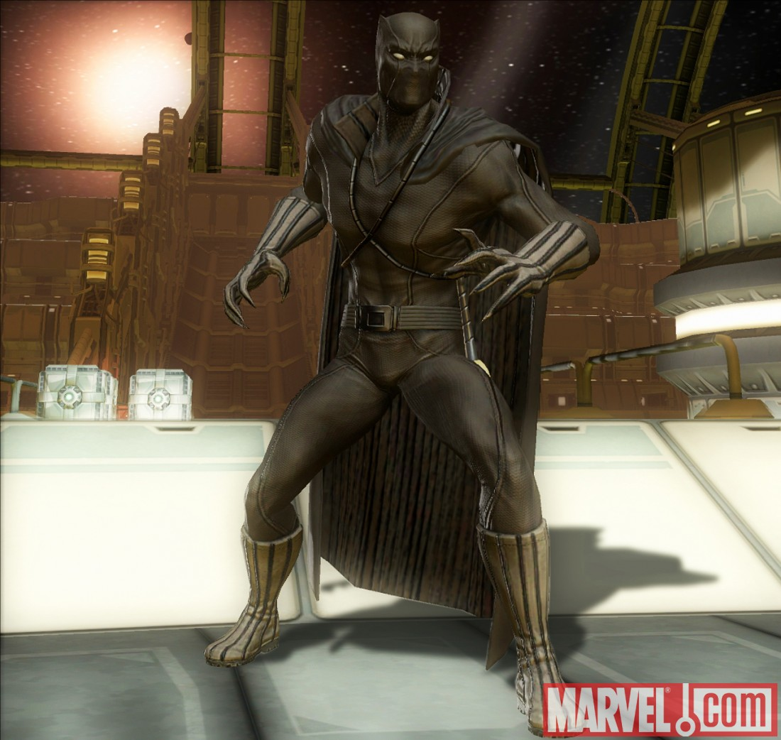 Black Panther in Marvel: Ultimate Alliance 2