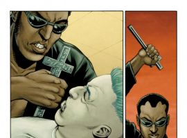 ULTIMATE COMICS AVENGERS 3 #1 censored preview art by Steve Dillon 4