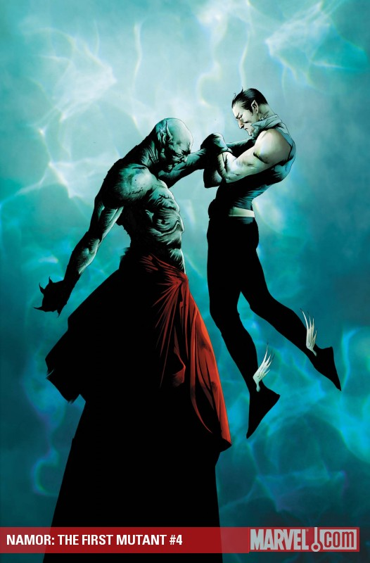Namor: The First Mutant (2010) #4