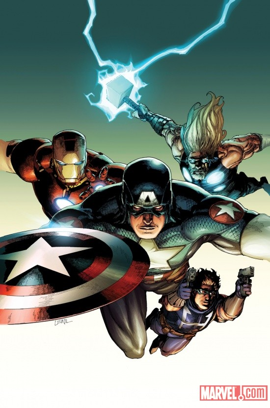 Ultimate Comics Avengers Vs. New Ultimates #2 cover by Leinil Yu