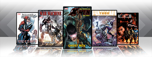 Marvel iPad/iPod App: Latest Titles 2/2/11