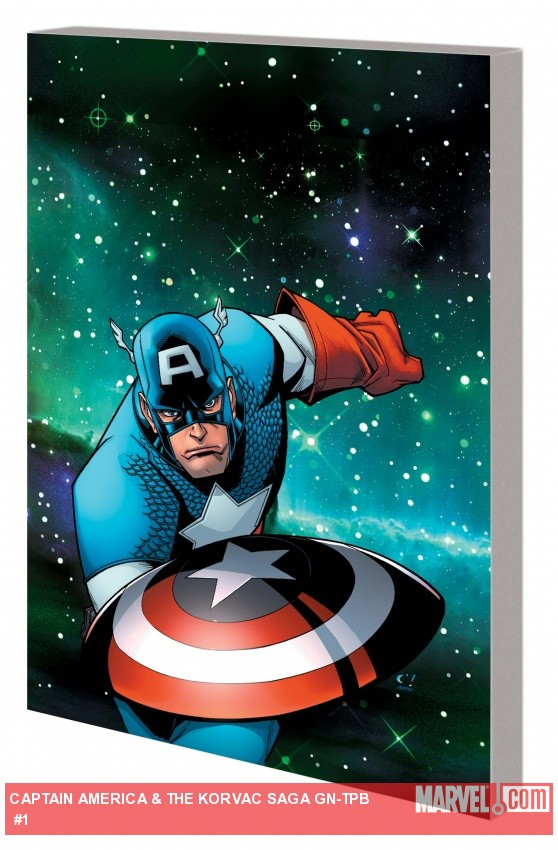 Captain America &amp; The Korvac Saga GN-TPB