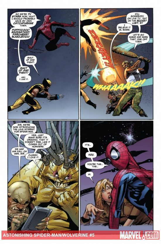 Astonishing Spider-Man & Wolverine #5 preview art by Adam Kubert