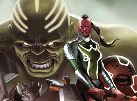 Fear Itself: The Worthy #1 cover