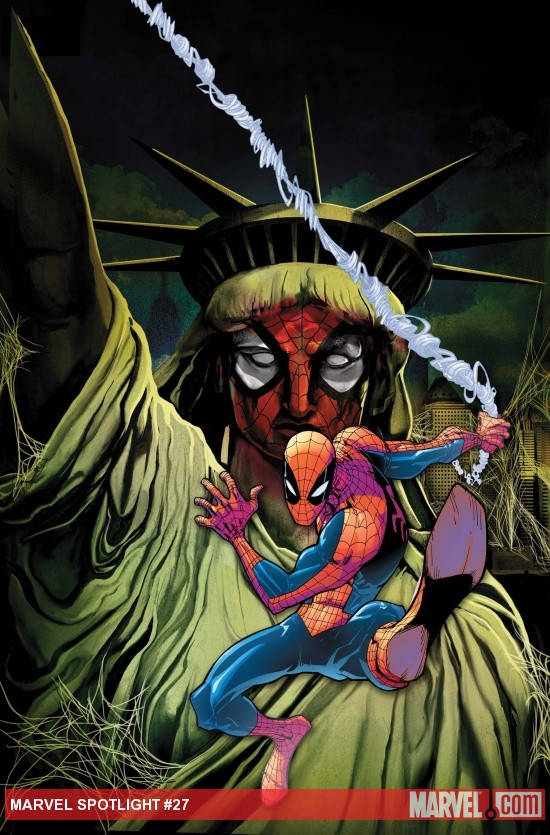 Spider-Island Spotlight cover