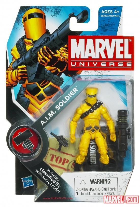 A.I.M. Soldier 3 3/4 Inch Marvel Universe Action Figure from Hasbro, Wave 8