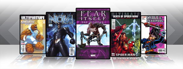 Marvel iPad/iPod App: Latest Titles 6/8/11