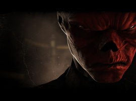 The Red Skull from Captain America: Super Soldier
