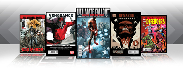 Marvel iPad/iPod App: Latest Titles 8/3/11