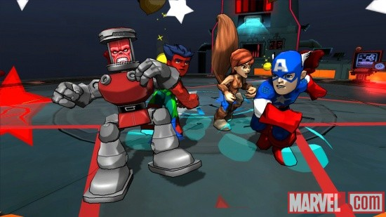 Super Hero Squad: Comic Combat screenshot