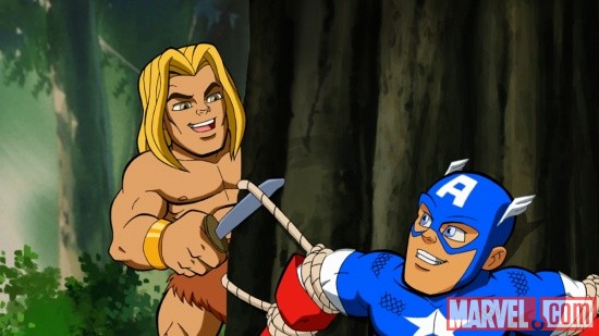 Screenshot from The Super Hero Squad Show Season 2, Ep. 20
