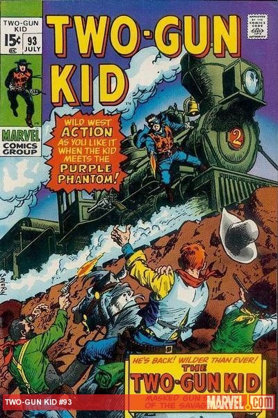 Two-Gun Kid #93 cover by John Severin
