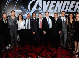 The cast and crew of Marvel's The Avengers