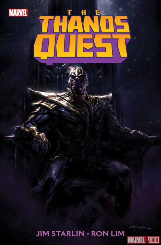 Thanos Quest #1 cover art