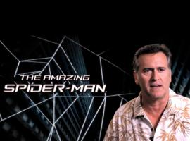 Bruce Campbell in The Amazing Spider-Man Game