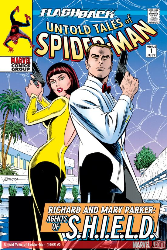 Richard and Mary Parker from the Spider-Man comics